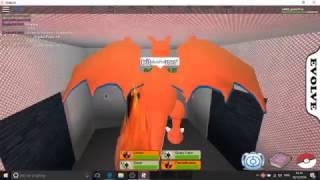 Charmander to Charizard Roblox pokemon fighters EX