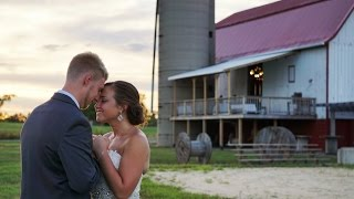 Touching letters from the bride and groom // Stunning Brighton Acres Barn Wedding in Wisconsin