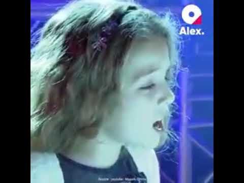 Charles Aznavour granddaughter sings La Bohème petite-fille de Aznavour chante