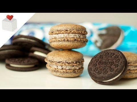 Cómo hacer Macarons con galletas Oreo | Recetas de repostería por Azúcar con Amor