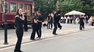 Студенты консерватории выступили с разножанровым флешмобом