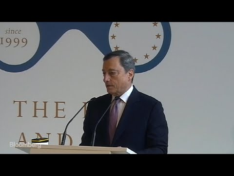 Draghi on ECB Policy Adjustments, Inflation, Economy: Speech