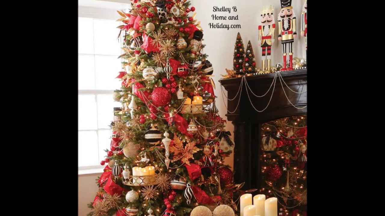 2017 raz christmas trees at shelley b home and holidaycom christmas tree decorating