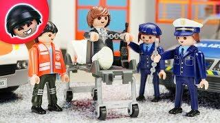 Geiselnahme im Krankenhaus! - Playmobil Polizei Film - KARLCHEN KNACK #205