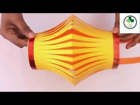 How to make calor ful Diwali lantern DIY Di wali lantern craft, lubnas gallery