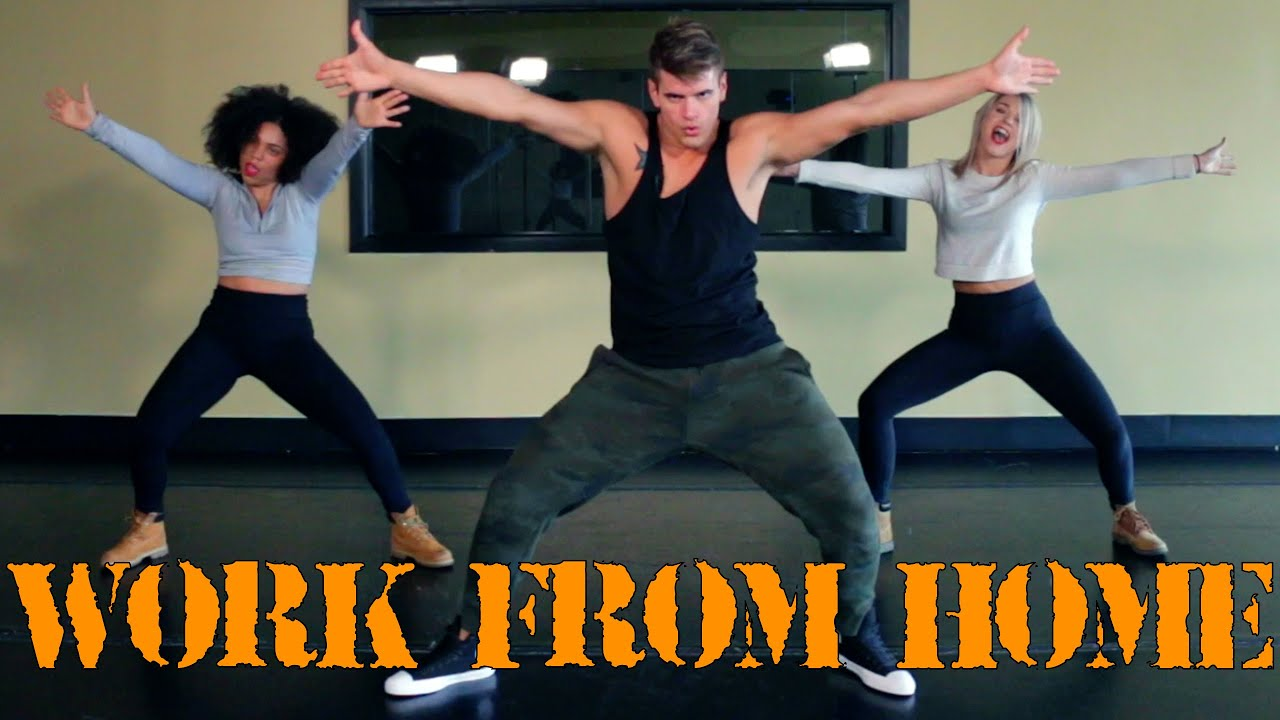 Work From Home Fifth Harmony The Fitness Marshall Dance Workout Youtube