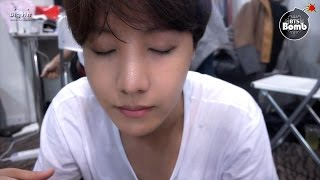 [BANGTAN BOMB] j-hope is trying to wear contact lenses. - BTS (방탄소년단)