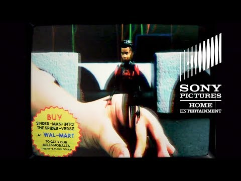 SPIDER-MAN: INTO THE SPIDER-VERSE- Walmart Blu-ray 80's Throwbaction Figure Commercial