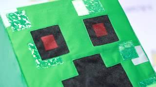 Аниматорский костюм Крипера для программы Майнкрафт
