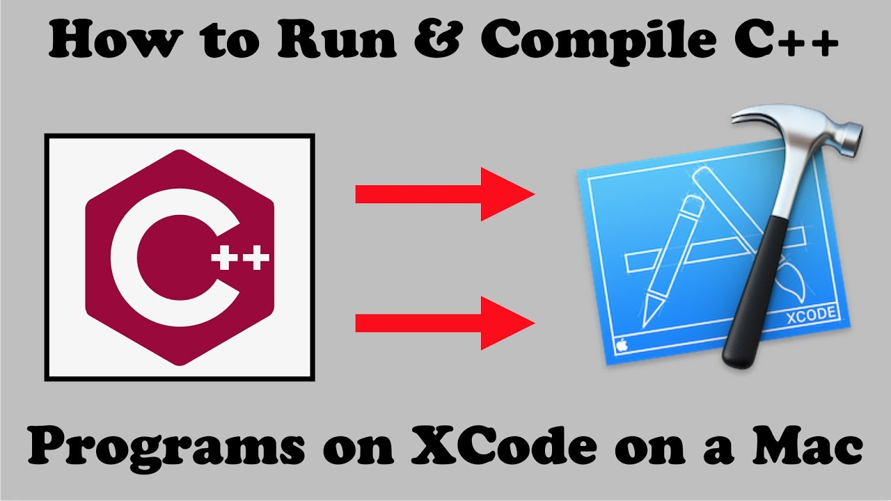 How To 'RUN' & 'COMPILE' C++ Programs on XCode   2019 NEW TUTORIAL (MacOS  Mojave Edition)
