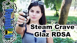 Steam Crave Glaz RDSA. Стекло и 30 мм в диаметре