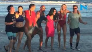 Priyanka Chopra back in Savannah with her Baywatch squad