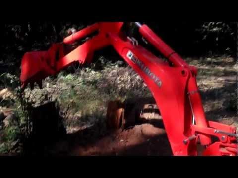 Kubota Backhoe BH77 Cylinder Problem? - YouTube