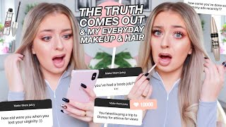 Spilling The Tea Whilst Doing My Everyday Makeup Routine thumbnail