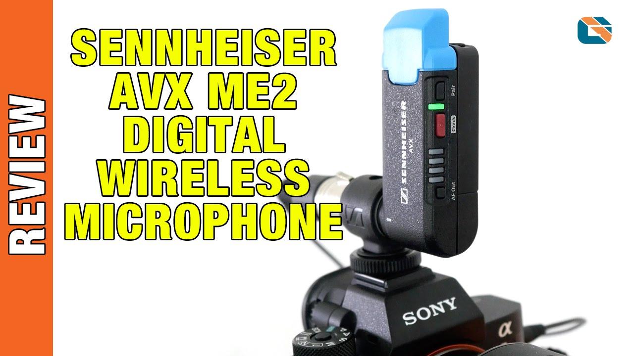 sennheiser avx me2 digital wireless microphone review youtube. Black Bedroom Furniture Sets. Home Design Ideas