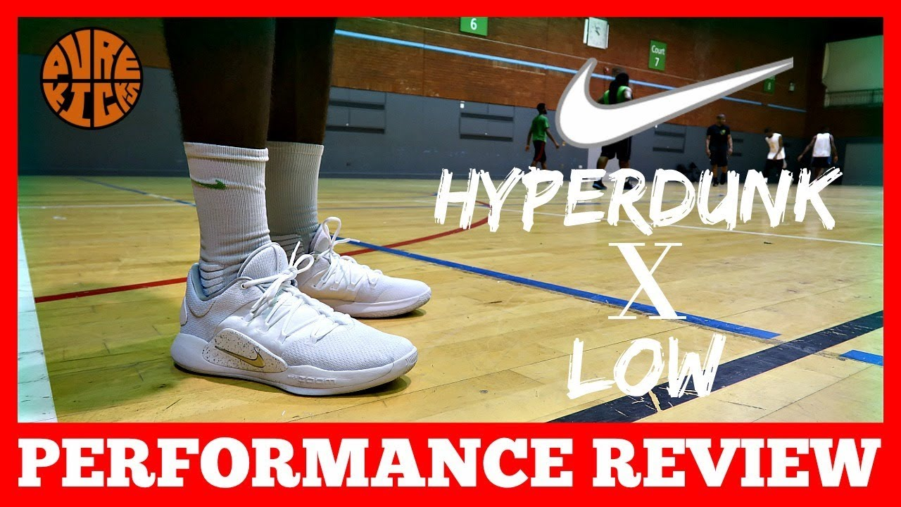 9e8afb1bda69 NIKE HYPERDUNK X LOW PERFORMANCE REVIEW (2018) - YouTube