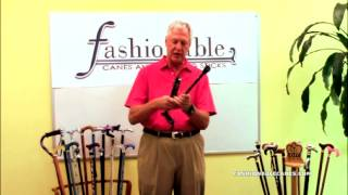Folding and Unfolding your Cane