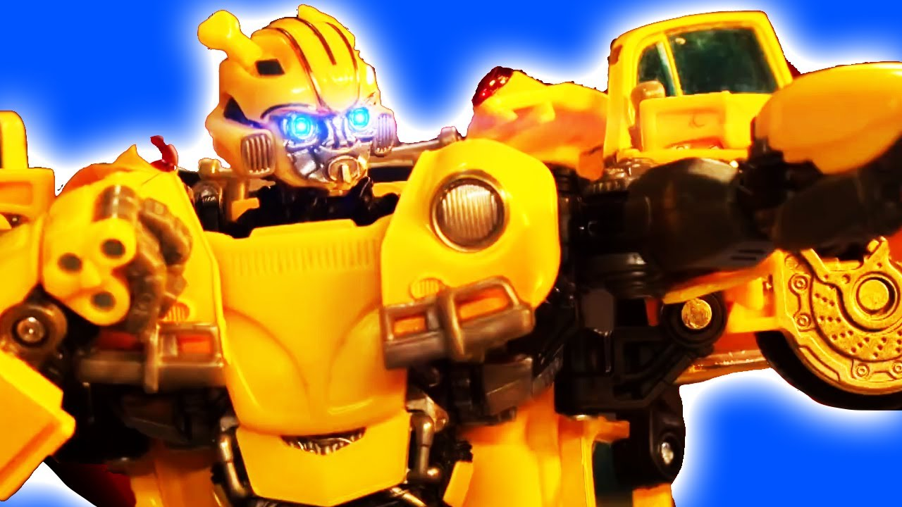 Transformers Robot Stop Motion Cartoons Animation Official Video