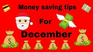 Money saving tips for December - South Africa 2018