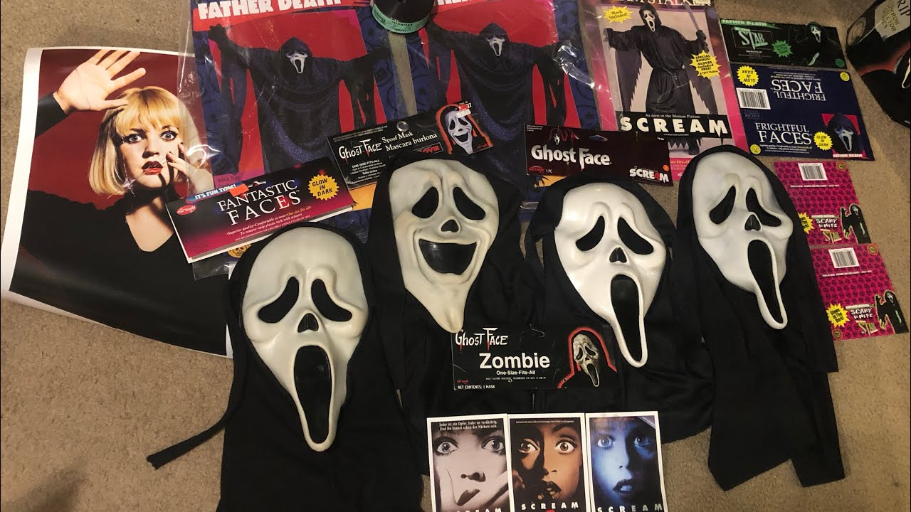 Massive Scream Mask and Merch unboxing!