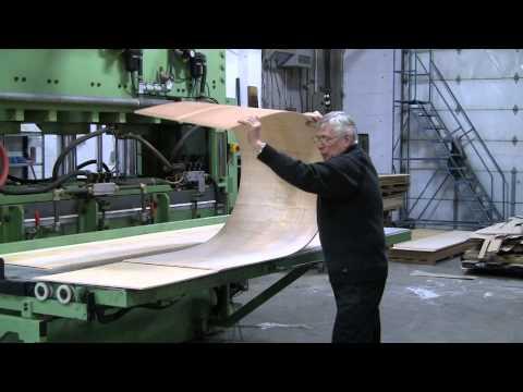 Bending Plywood using Patented BendAPly Method