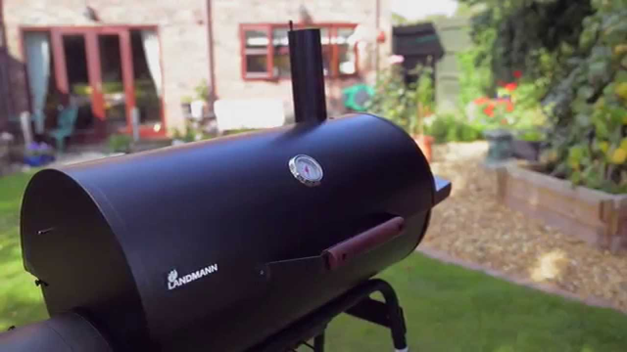 Landmann Holzkohlegrill Manual : How to use the landmann kentucky smoker barbecue bbq youtube
