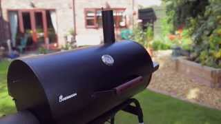 How to use the Landmann Kentucky Smoker Barbecue (BBQ)