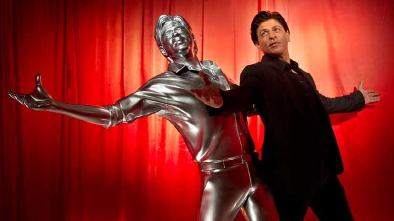 Shah Rukh Khan Strikes his SIGNATURE Pose in a Lifesize 3D Print ...
