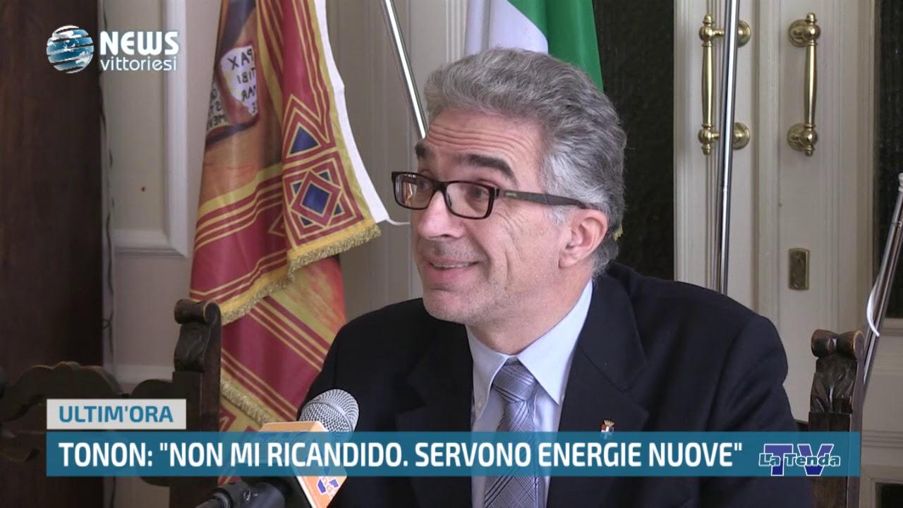 """News Vittoriesi - Tonon: """"Non mi ricandido. Servono energie nuove"""""""