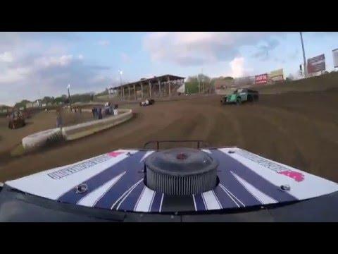 Belle Clair Speedway hot laps