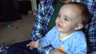 Adorable baby laugh Thumbnail