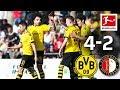 Reus & Alcacer Score For BVB | Uerdingen Vs. Borussia Dortmund 0-2 | Highlights | DFB | 1st Round