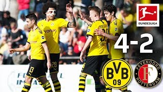 Borussia Dortmund vs. Feyenoord Rotterdam 4-2 Highlights - First BVB Win This Year