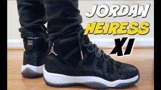 (NO MAN S SNEAKER) JORDAN 11 XI HEIRESS REVIEW   ON FEET - YouTube 9953ccc0e