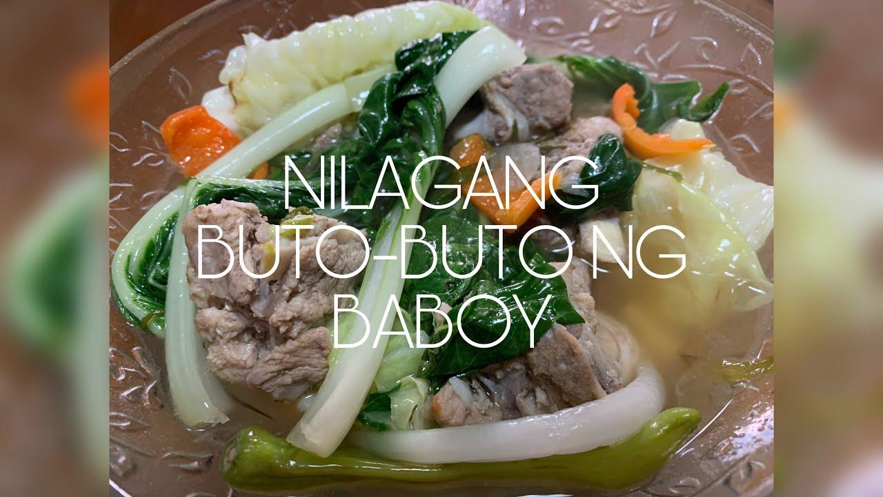 how to cook nilagang buto-buto ng baboy