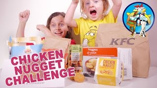 [challenge] Chicken Nugget Challenge ! 7 Marques Différentes ! - Studio Bubble Tea Challenge