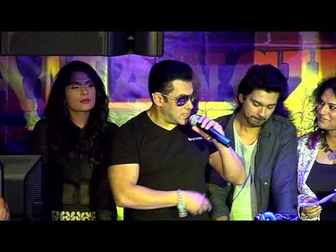 Salman Khan at the launch of Tamanchey In...