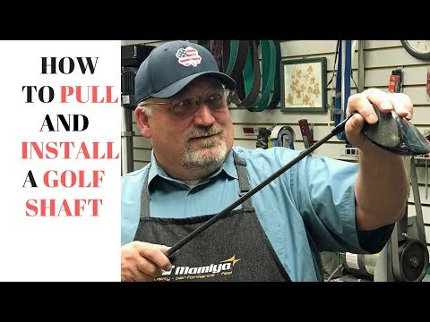 Golf Club Repair - How to pull AND install a golf shaft