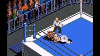 Super Fire Pro Wrestling X Premium - -MMA match- Vizzed.com (rom hack) - User video