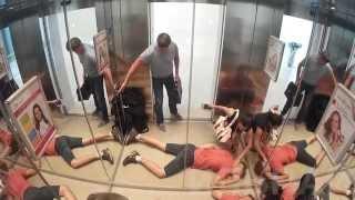 Приколы в лифте (Пранк)  / The jokes in the Elevator (Prank)