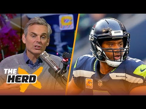 Colin Cowherd compares Russell Wilson to Steve Young | THE HERD