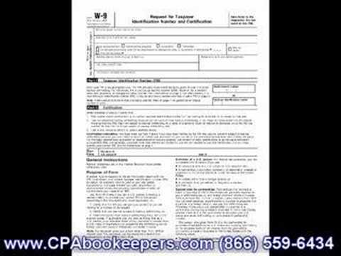 W-9 Form Filling in W-9 Form - YouTube