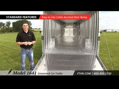 Awesome Car Trailer - Tour the Featherlite Model 1641