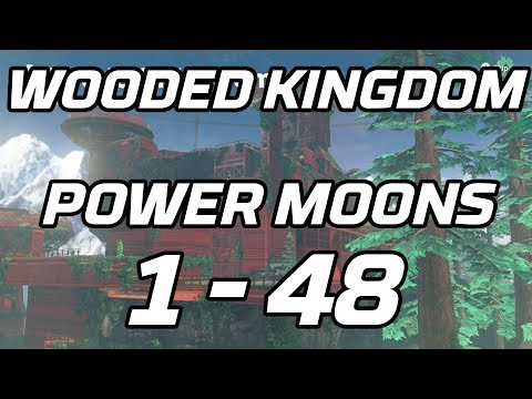 [Super Mario Odyssey] Wooded Kingdom Power Moons 1 - 48 Guid