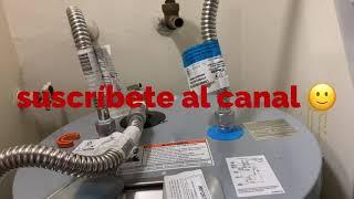 Sistema de conexión o (connection system )para water Heater(shark Bite)