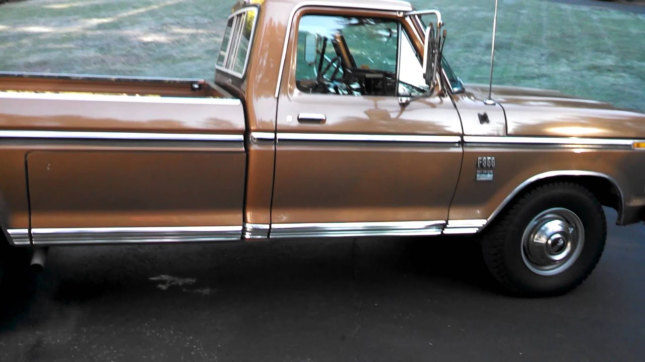 1974 Ford F-350 Ranger XLT for sale - YouTube