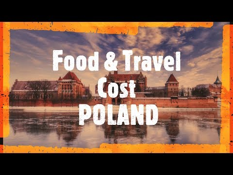 FOOD and TRAVELLING expenses | Monthly and Daily | POLAND | LIVE IN POLAND