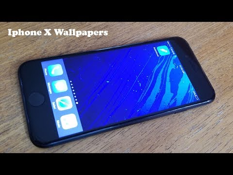 How To Download Iphone X Wallpapers - Fliptroniks.com