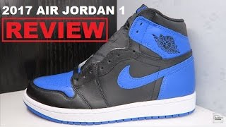 2017 Air Jordan 1 Royal Retro Sneaker Review by Dj Delz