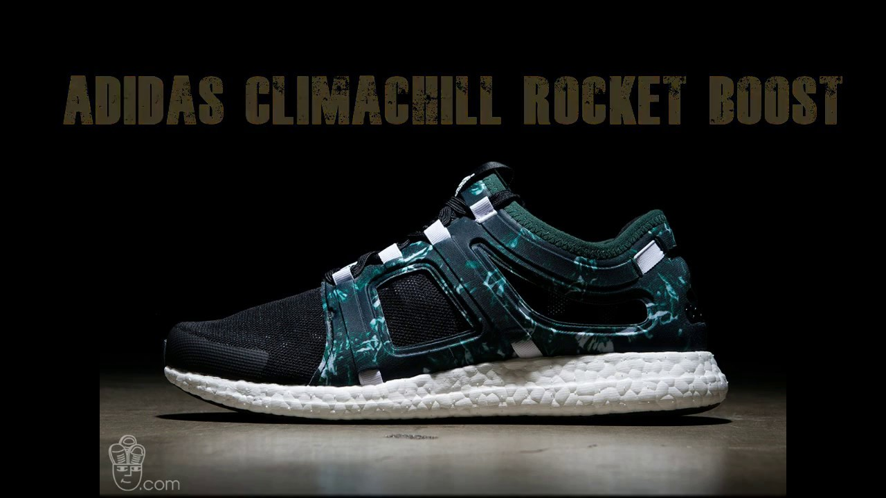 Adidas Climachill Rocket Boost Black / White-Green